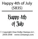 Happy4thofJulySample
