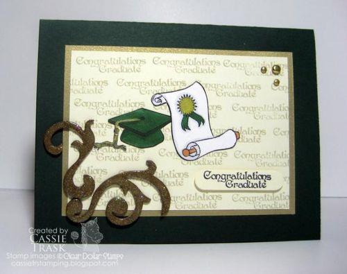 CongratGradCapOpenScrollCT