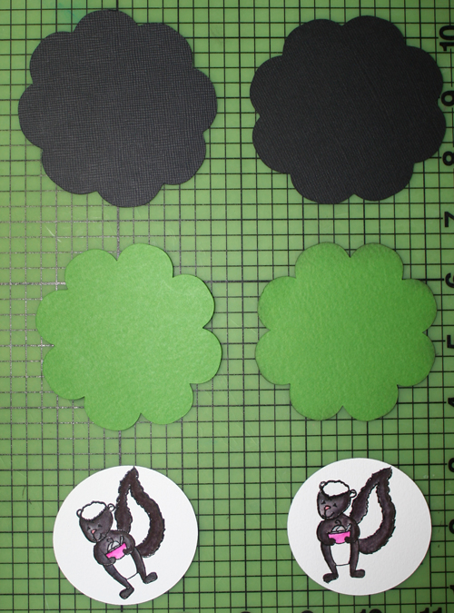 Flower cut out
