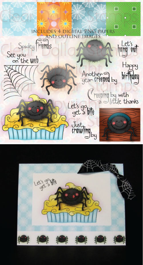 SpiderGreetingsColorSample