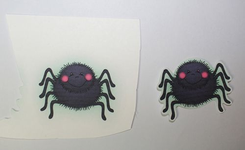 Print two spiders (step 1)