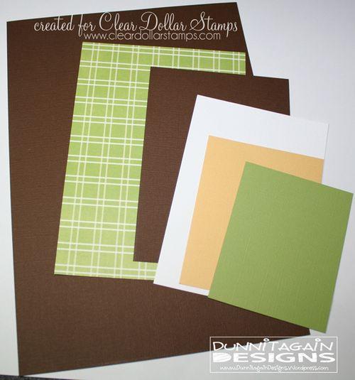 Step 2 cut paper